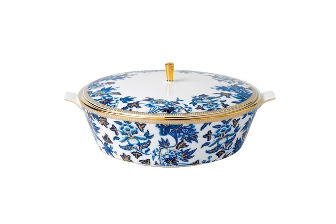 Wedgwood Hibiscus Covered Vegetable Dish 1.5l