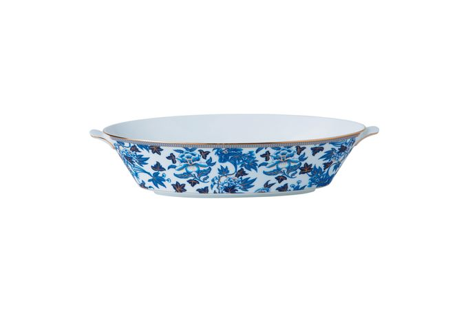 Wedgwood Hibiscus Oval Serving Bowl 1.3l