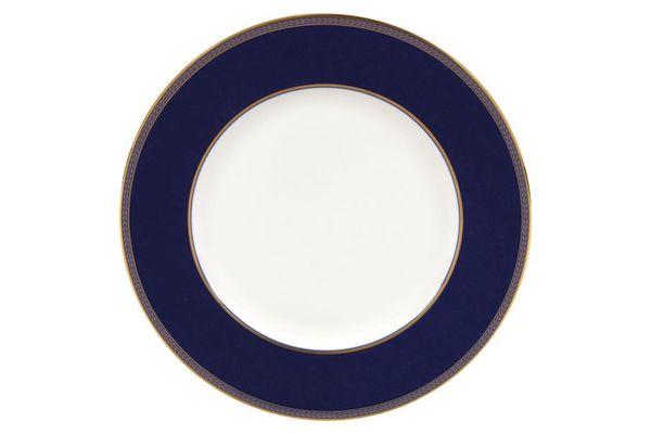Wedgwood Renaissance Gold Dinner Plate Blue Border