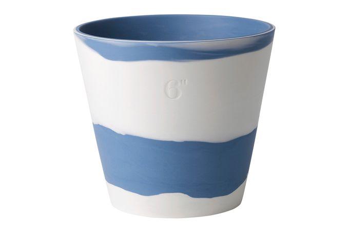 """Wedgwood Burlington Pots Planter Blue 6"""""""