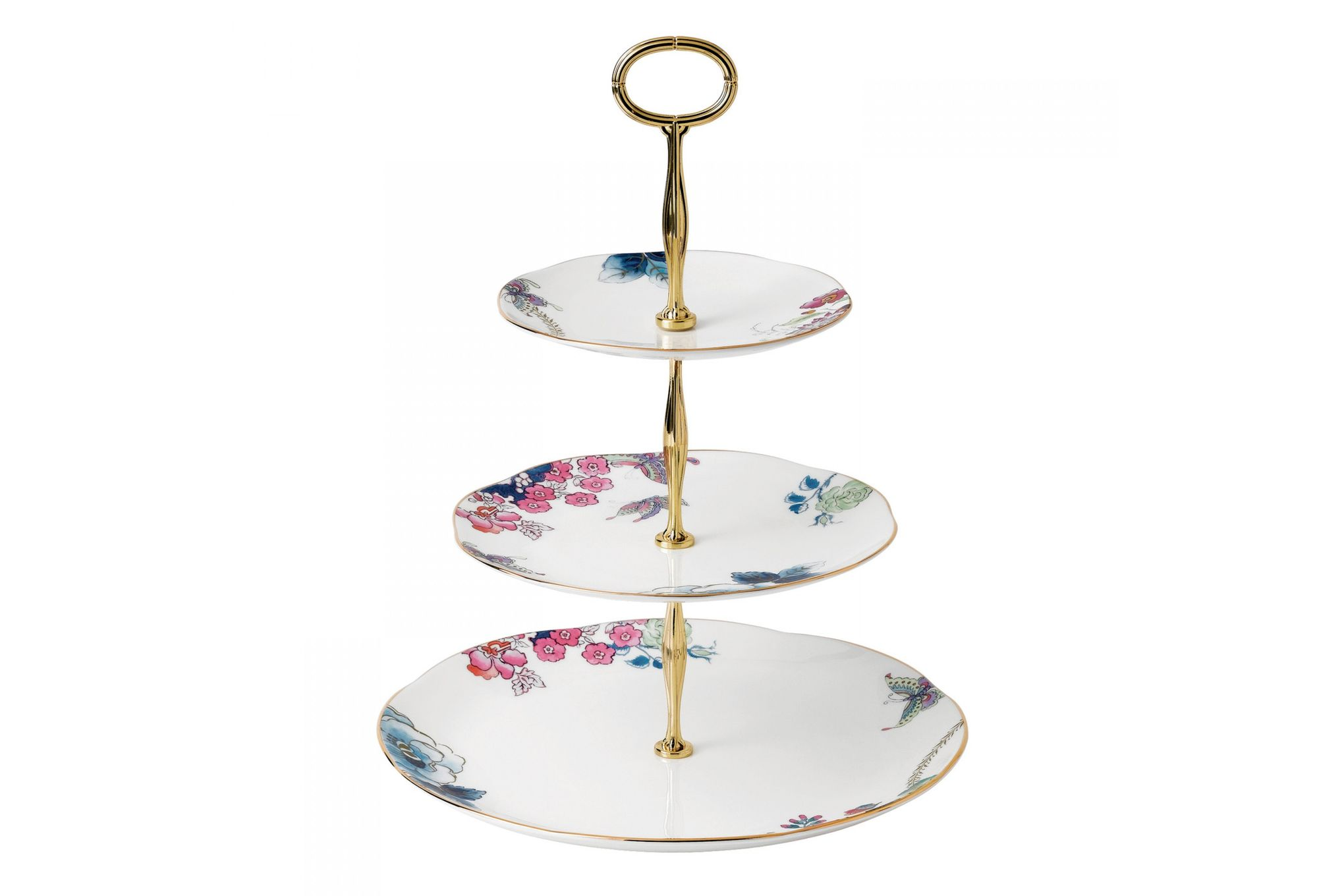 Wedgwood Butterfly Bloom 3 Tier Cake Stand thumb 1
