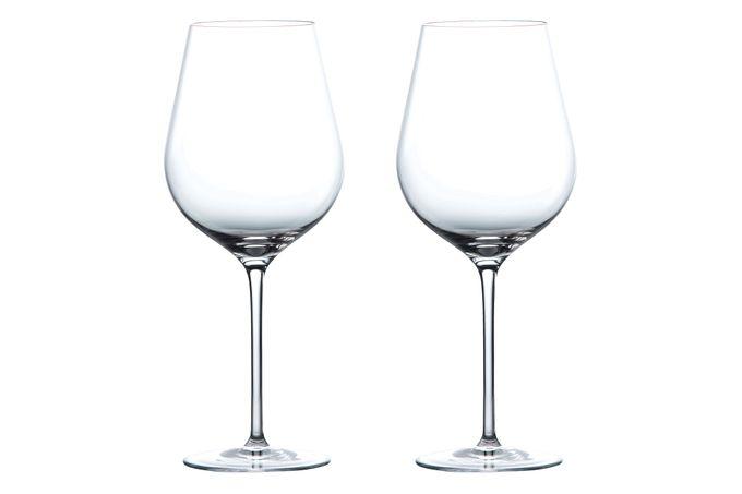 Wedgwood Globe Pair of Red Wine Glasses