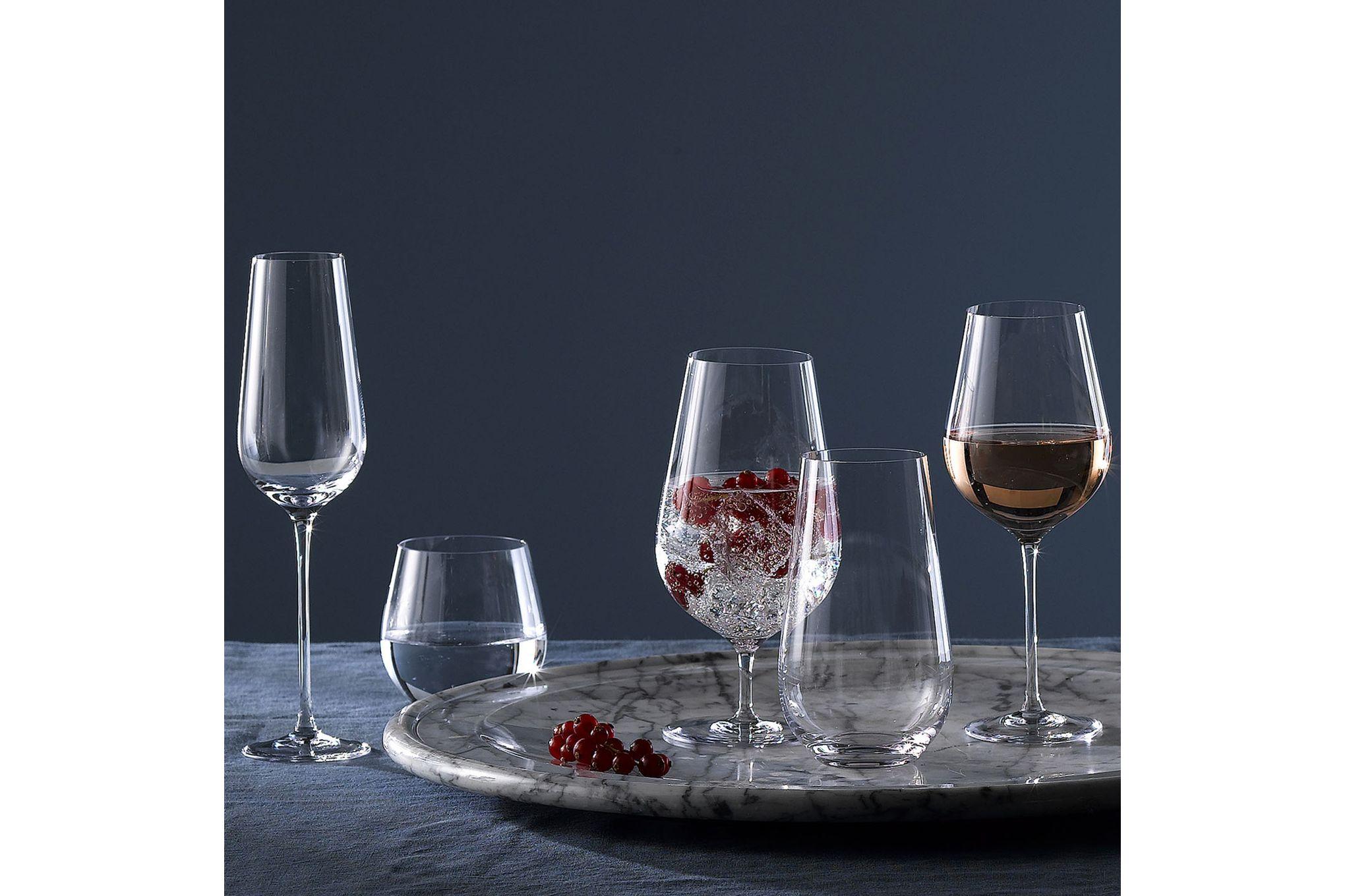 Wedgwood Globe Pair of Red Wine Glasses thumb 3