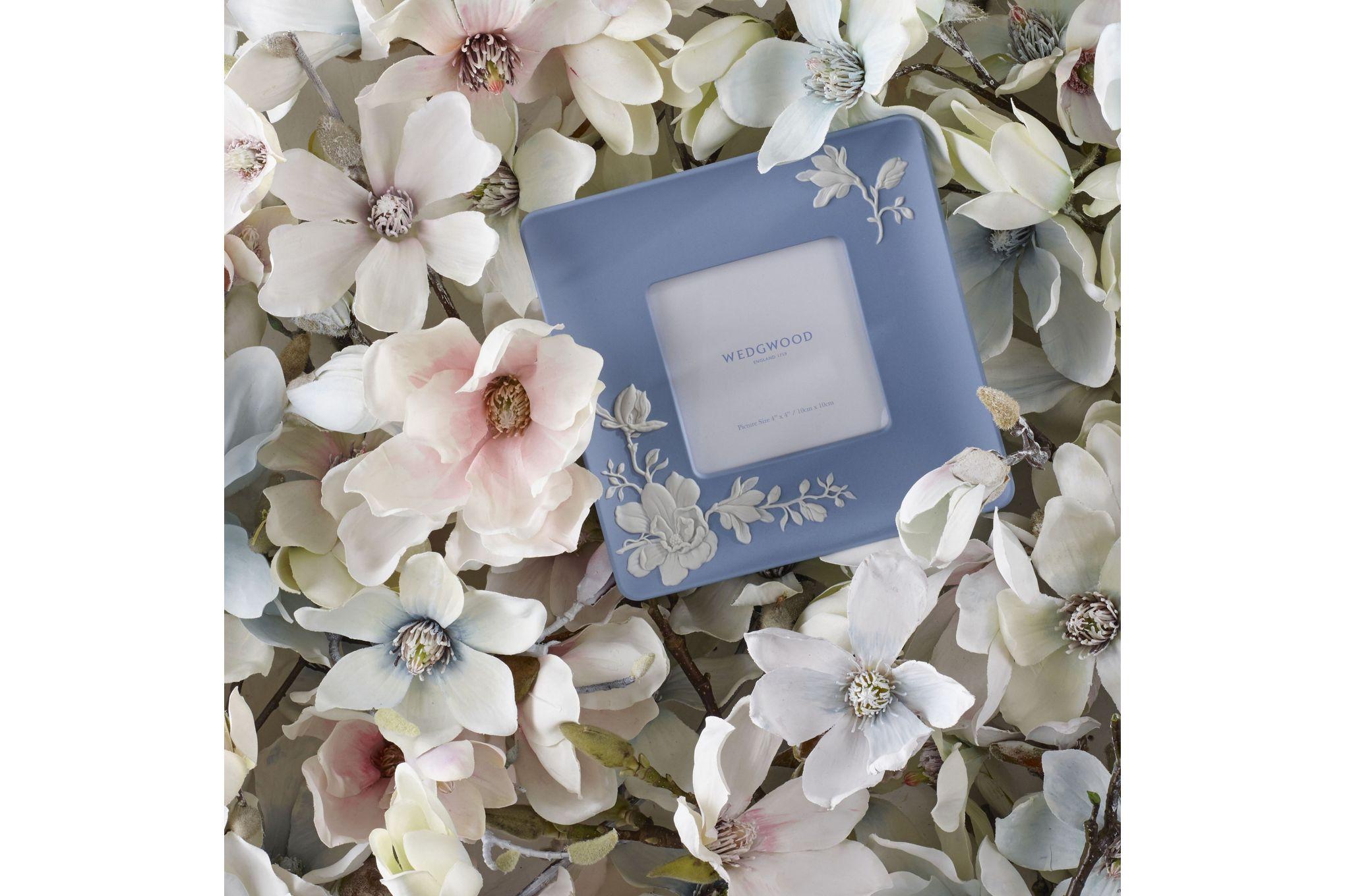 "Wedgwood Magnolia Blossom Photo Frame 4 x 4"" thumb 2"