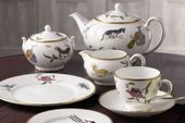 Wedgwood Mythical Creatures 3 Piece Set Teacup & Saucer, Plate Set Gift Boxed thumb 2