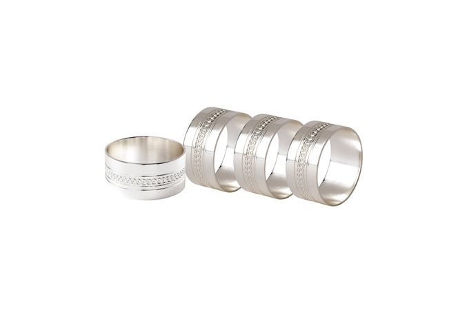 Wedgwood Simply Wish Napkin Rings Set of 4
