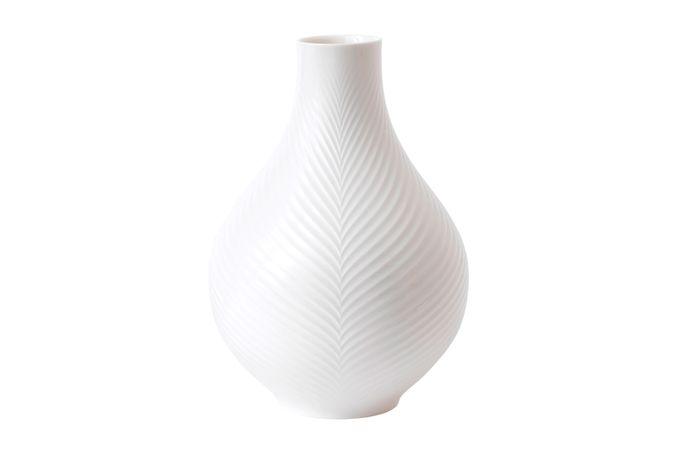 Wedgwood Folia Bulb Vase White Folia 23cm