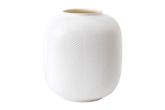 Wedgwood White Folia Vase 21cm