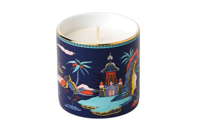 Wedgwood Wonderlust Scented Candle Blue Pagoda