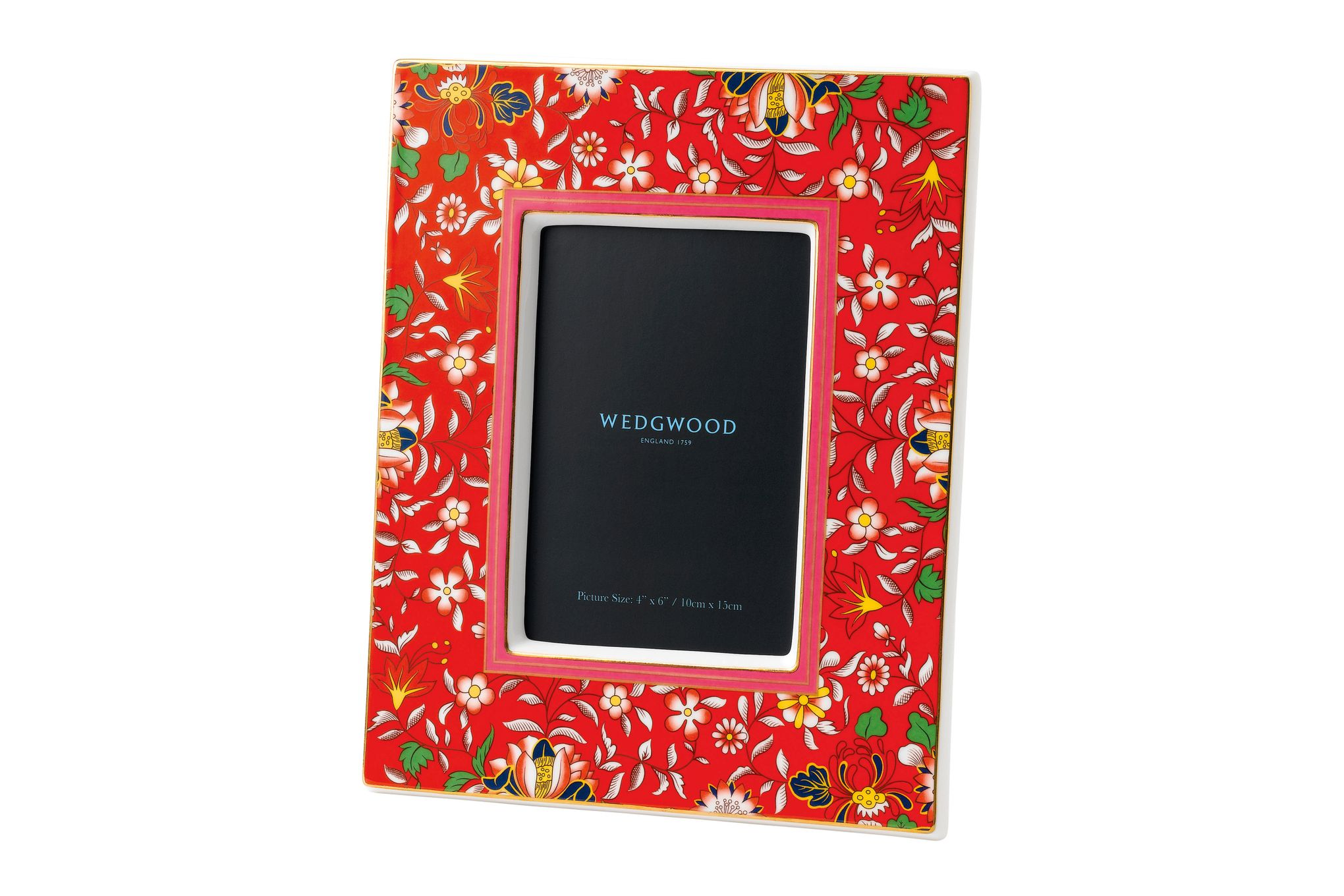 "Wedgwood Wonderlust Photo Frame Crimson Jewel - Boxed 4 x 6"" thumb 1"