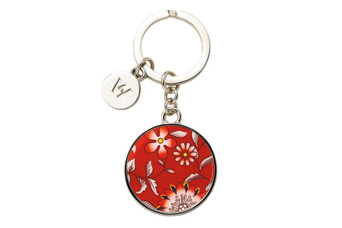 Wedgwood Wonderlust Keyring Crimson Jewel - Boxed
