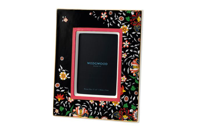 "Wedgwood Wonderlust Photo Frame Oriental Jewel - Boxed 4 x 6"""