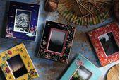 "Wedgwood Wonderlust Photo Frame Oriental Jewel - Boxed 4 x 6"" thumb 3"