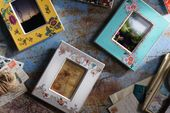 "Wedgwood Wonderlust Photo Frame Rococo Flowers - Boxed 4 x 6"" thumb 3"