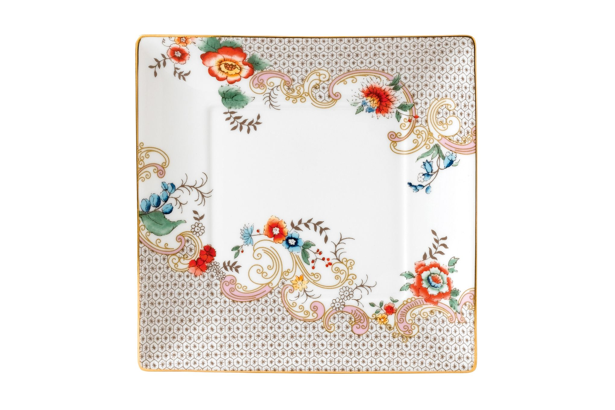 Wedgwood Wonderlust Tray (Giftware) Rococo Flowers - Boxed 14.5cm thumb 1