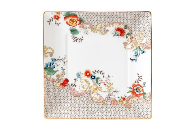 Wedgwood Wonderlust Tray (Giftware) Rococo Flowers - Boxed 14.5cm