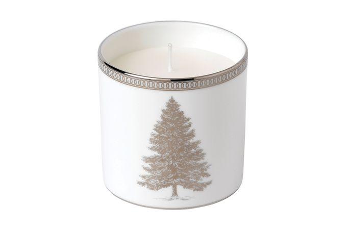 Wedgwood Winter White Candle Gift Boxed