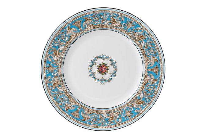Wedgwood Florentine - Turquoise Dinner Plate 10 1/2""