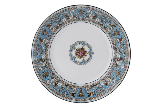 "Wedgwood Florentine - Turquoise Side Plate 8"""