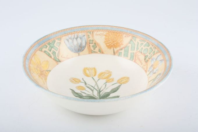"""Wedgwood Garden Maze Oatmeal / Cereal / Soup 5 7/8"""""""