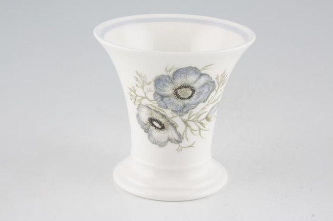 """Wedgwood Glen Mist - Susie Cooper Design - Black Urn Backstamp Bud Vase 3 1/2"""""""