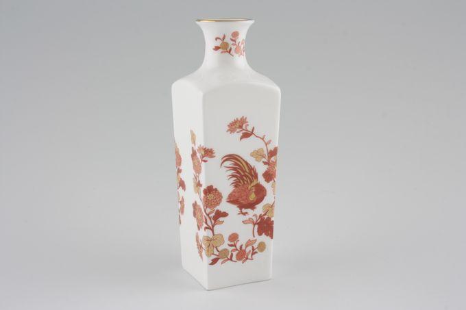 "Wedgwood Golden Cockerel Bud Vase Square 5 1/4"""