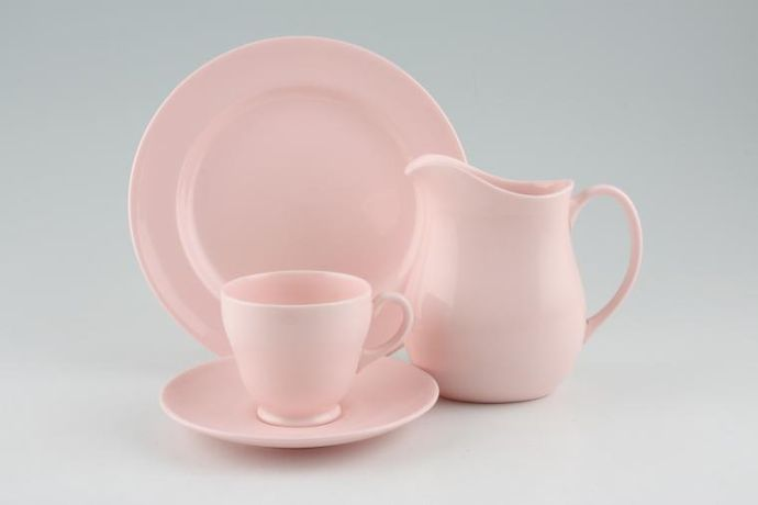 Wedgwood Alpine Pink - Plain Edge
