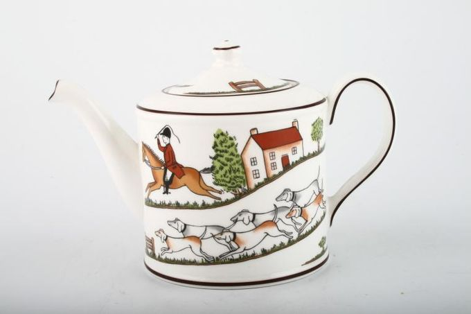 Wedgwood Hunting Scenes Teapot 1 cup