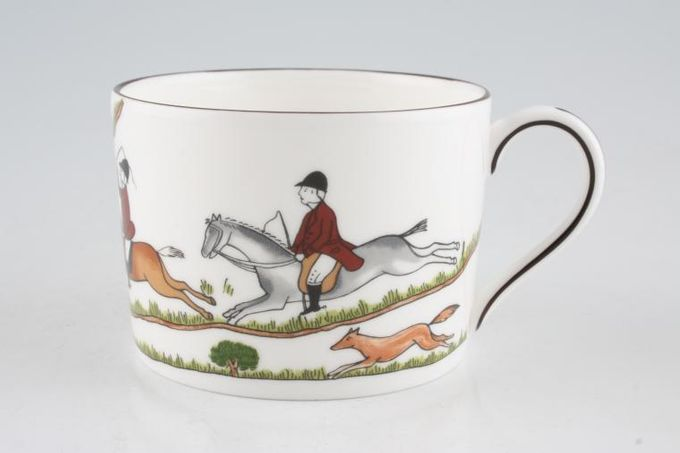 """Wedgwood Hunting Scenes Teacup Straight Sided 3 1/4 x 2 1/4"""""""
