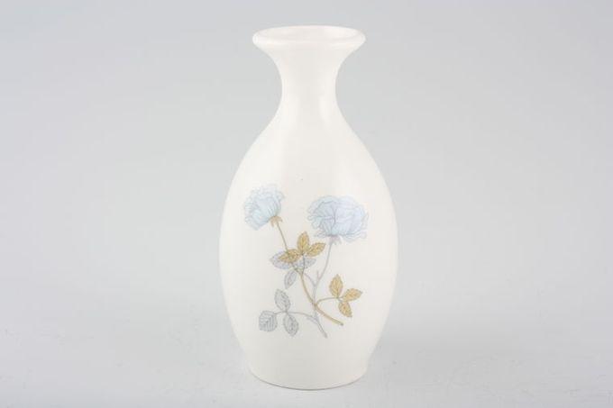 """Wedgwood Ice Rose Bud Vase 5"""""""