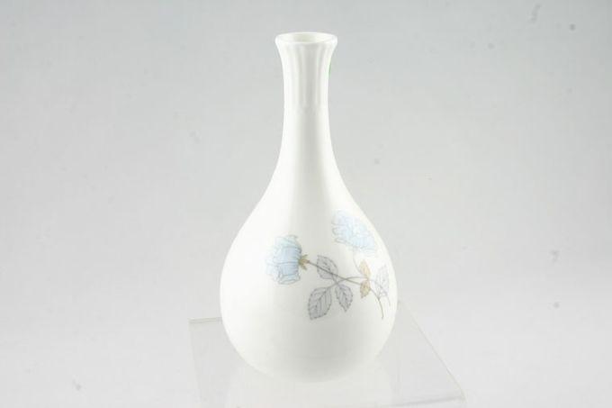 """Wedgwood Ice Rose Bud Vase 5 1/2"""""""