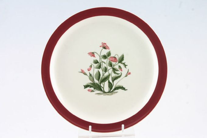 Wedgwood Mayfield - Ruby Breakfast / Salad / Luncheon Plate 9 1/4""