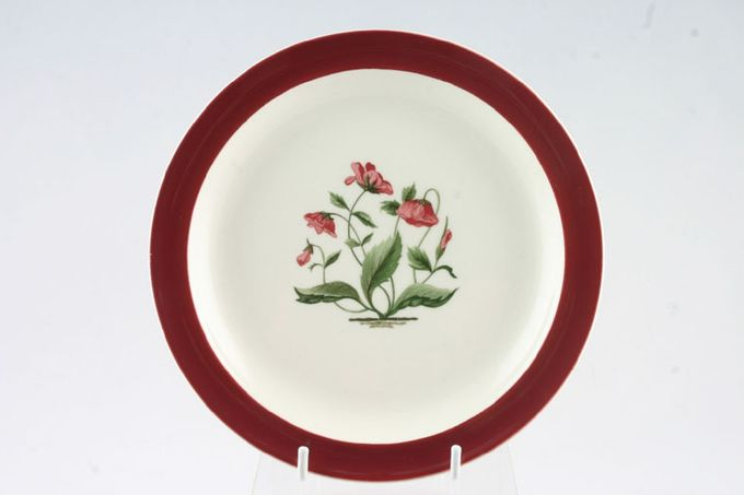 "Wedgwood Mayfield - Ruby Starter / Salad / Dessert Plate 8 1/4"""