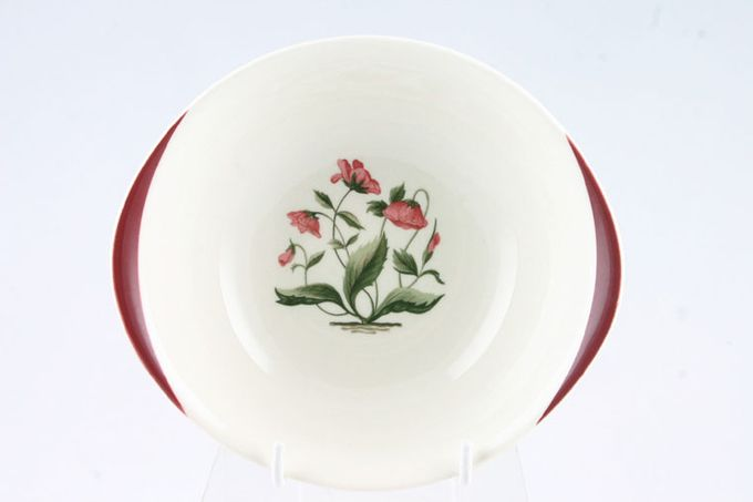 """Wedgwood Mayfield - Ruby Soup / Cereal Bowl eared 6 x 1 5/8"""""""