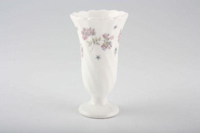 "Wedgwood April Flowers Bud Vase 4 1/4"""