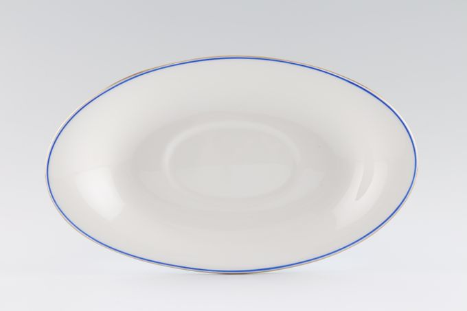 Wedgwood Mystique Blue Sauce Boat Stand