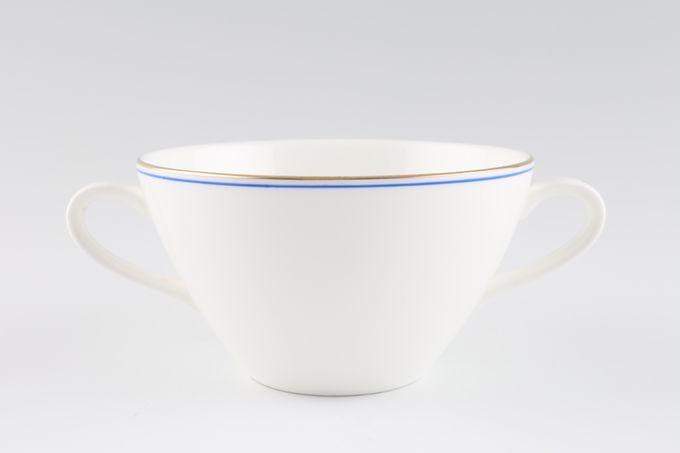 Wedgwood Mystique Blue Soup Cup 2 Handles