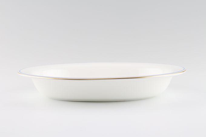 "Wedgwood Mystique Blue Vegetable Dish (Open) 10 1/8"""