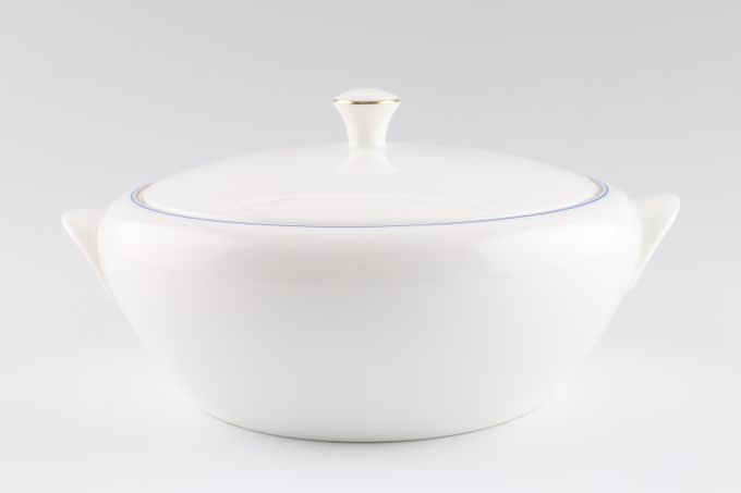 Wedgwood Mystique Blue Vegetable Tureen with Lid