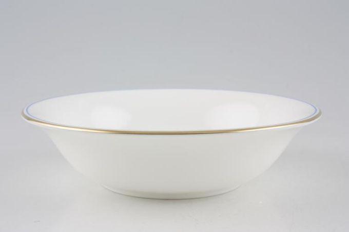 """Wedgwood Mystique Blue Soup / Cereal Bowl 6"""""""