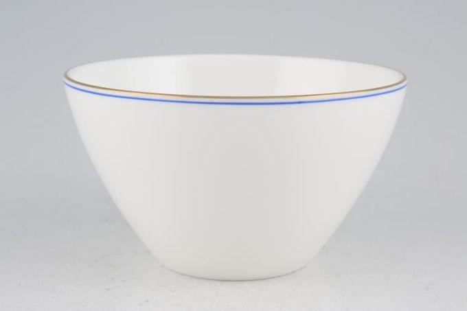 "Wedgwood Mystique Blue Sugar Bowl - Open (Tea) 4 1/8"""