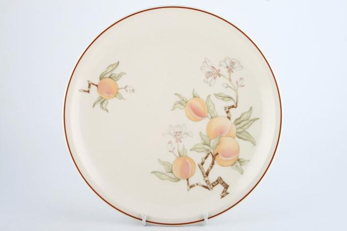 """Wedgwood Peach - Sterling Shape Dinner Plate See Serving Items for Oval Steak Plate 10 3/8"""""""