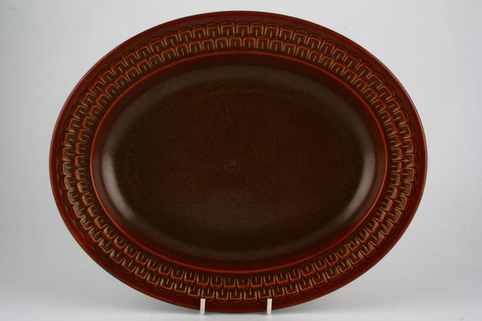 "Wedgwood Pennine Oval Plate / Platter 12 3/4"""