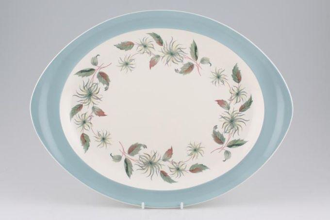 """Wedgwood Penshurst Oval Plate / Platter 14 1/2"""""""