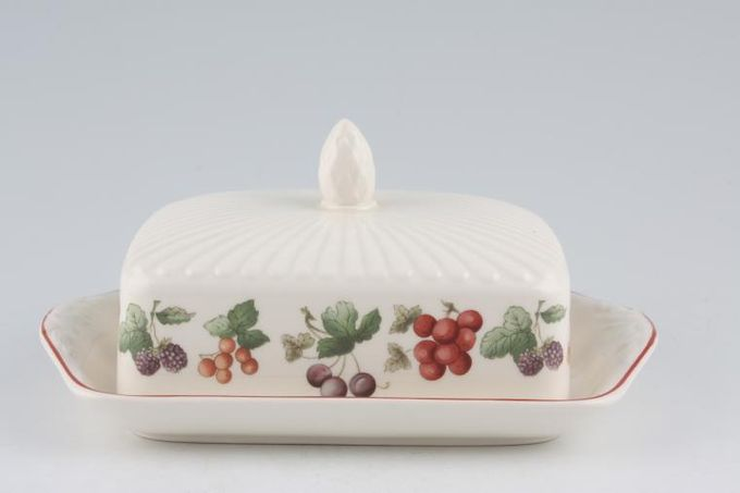 Wedgwood Provence Butter Dish + Lid oblong