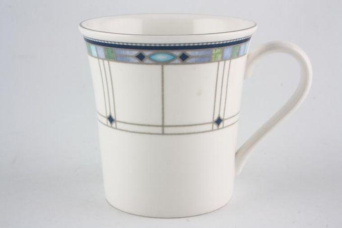 """Wedgwood Quadrants Mug 3 1/2 x 3 1/2"""""""