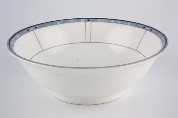 "Wedgwood Quadrants Serving Bowl Noodle/Veg/Salad Bowl 7 3/4"""