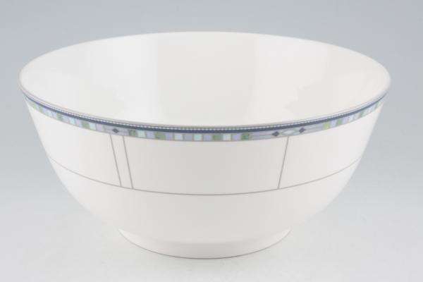 """Wedgwood Quadrants Salad Bowl 9 3/4"""""""