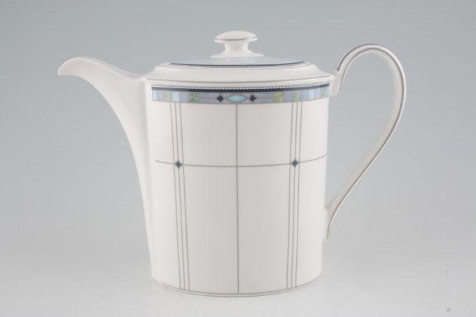 Wedgwood Quadrants Coffee Pot 1 3/4pt