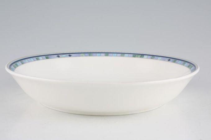 "Wedgwood Quadrants Soup / Cereal Bowl Coupe Soup 8"""